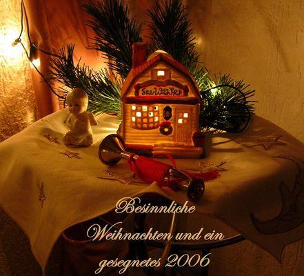 Weihnachtsgrüße...