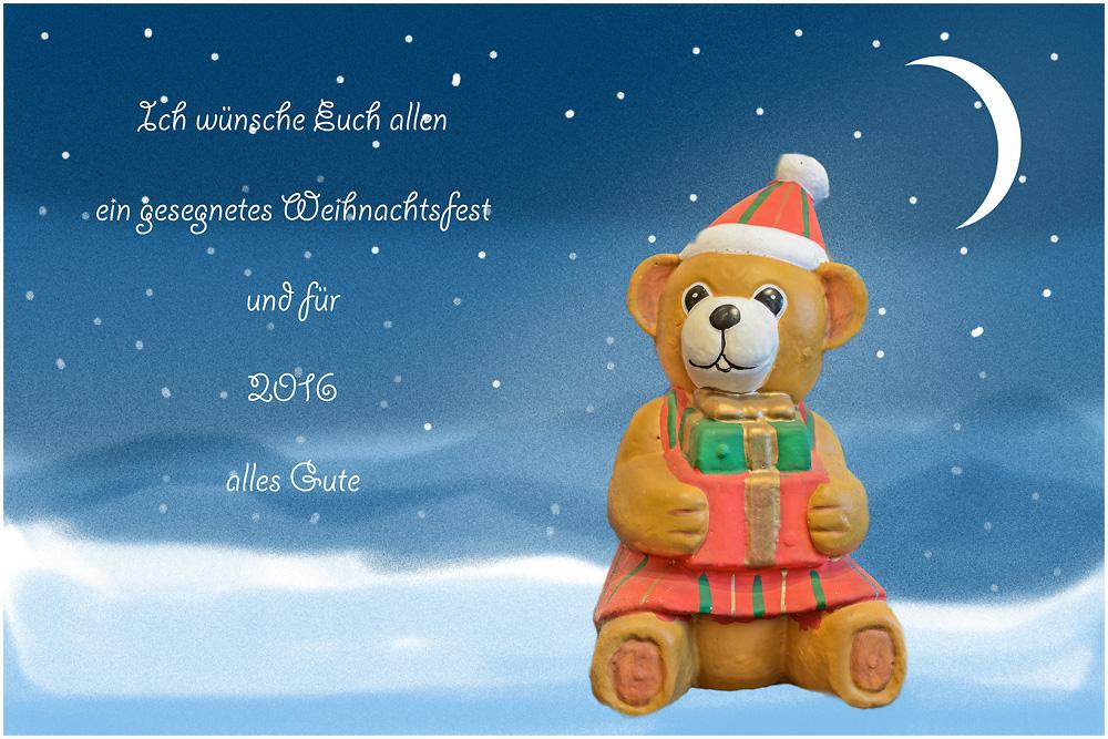 Weihnachtsgrüße Foto & Bild