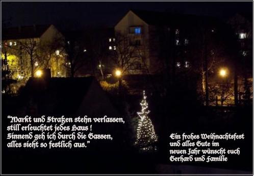 Weihnachtsgrüße an euch !!!