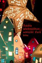 Weihnachtsgrüße von bine