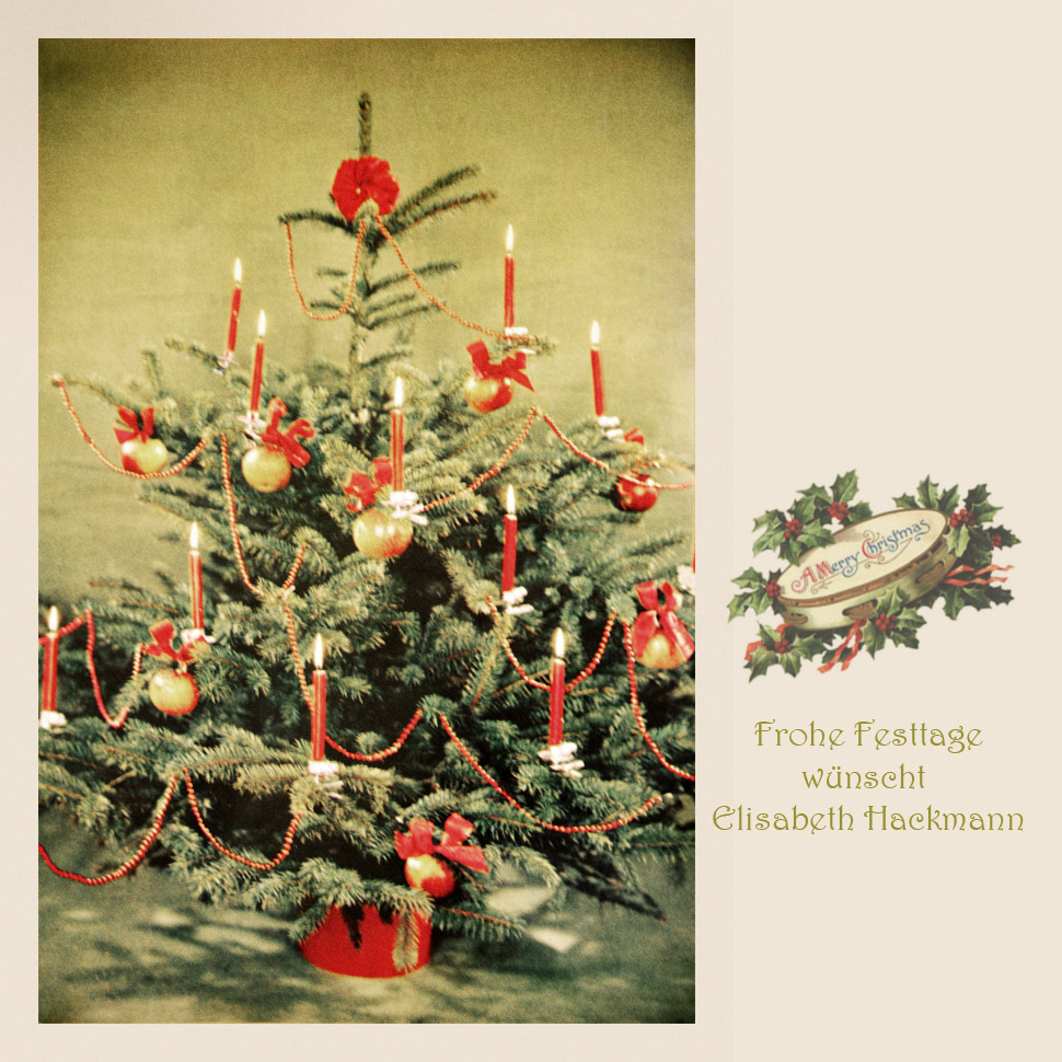 Weihnachtsgrüße | xmas greetings to all of you.....