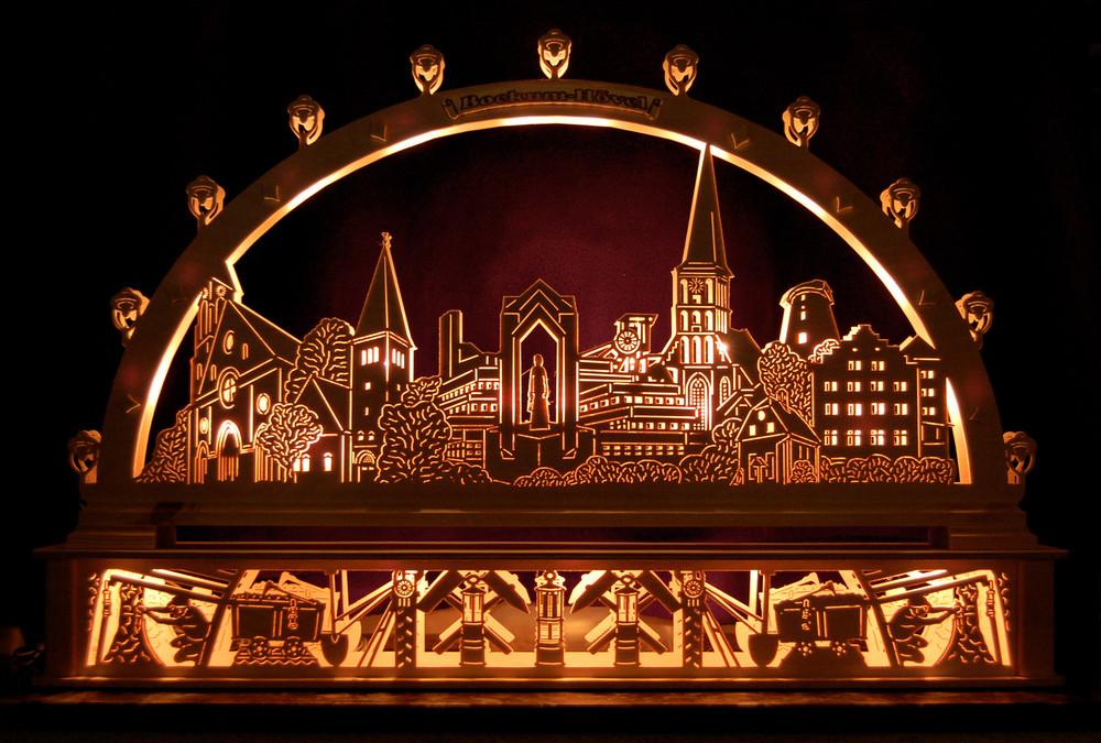 Weihnachtsgruß aus Hamm Bockum Hövel Foto & Bild
