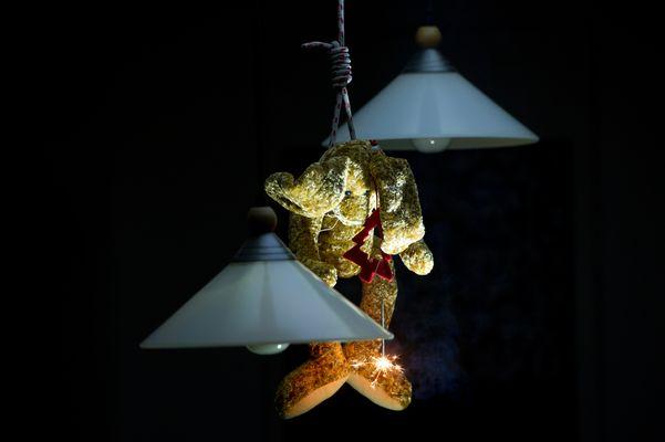 Weihnachtsgruss vom Osterhasen