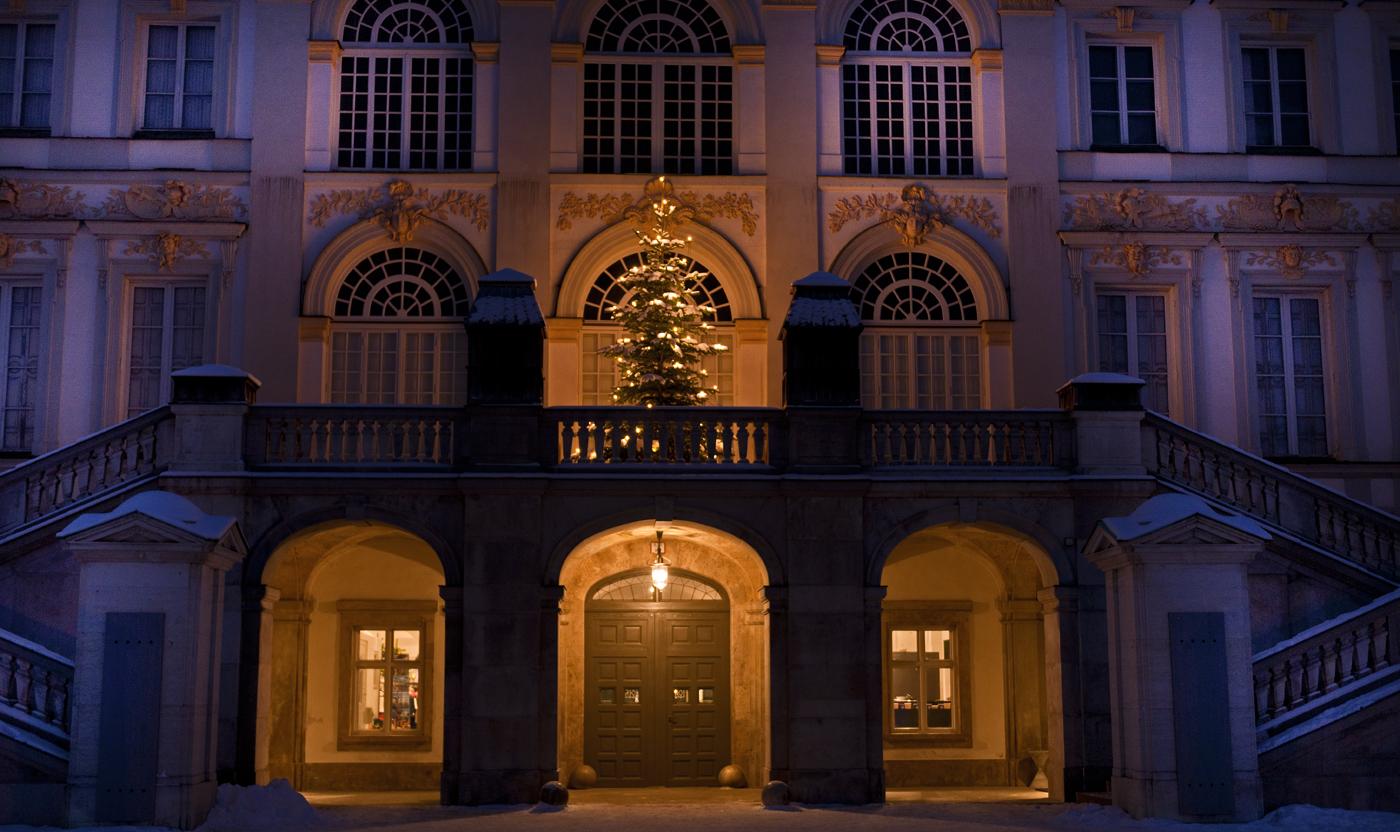 Weihnachtsimpressionen aus Schloß Nymphenburg 2