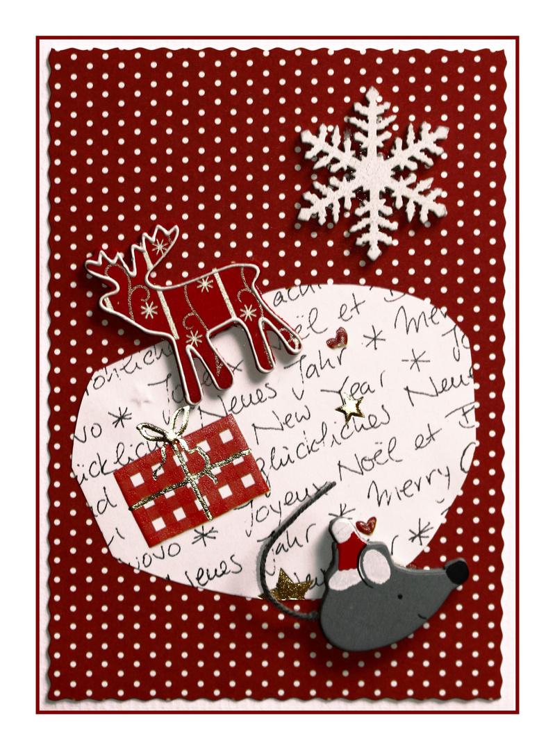 *Weihnachtskarte 2*
