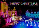 Weihnachtskarte Schloß Bückeburg