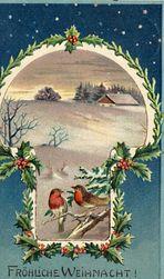 Weihnachtskarte von 1906