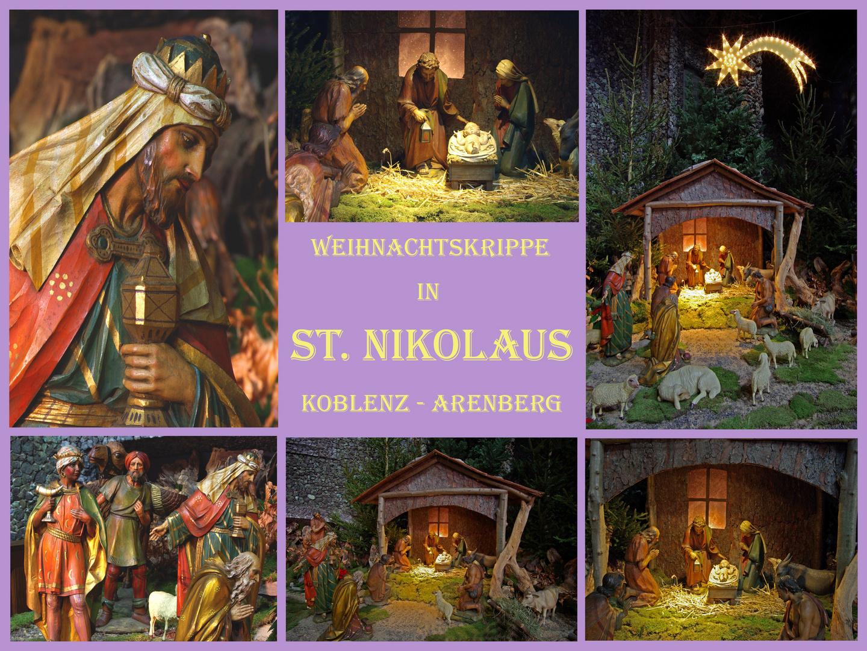 Weihnachtskrippe in der St.Nikolauskirche Koblenz-Arenberg