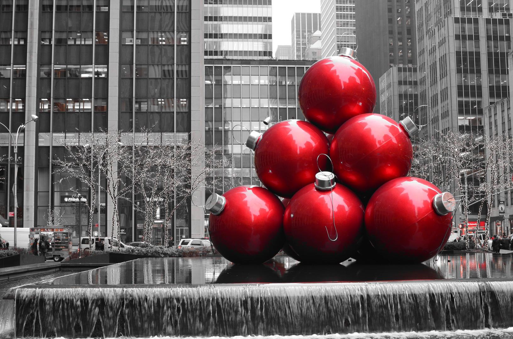 Weihnachtskugeln auf amerikanisch foto bild north - Bilder weihnachtskugeln ...