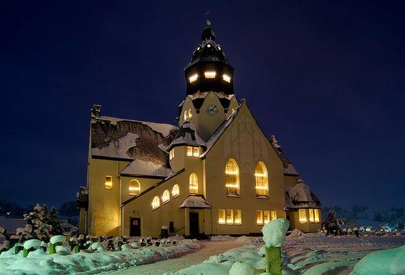 Weihnachtslicht im Erzgebirge