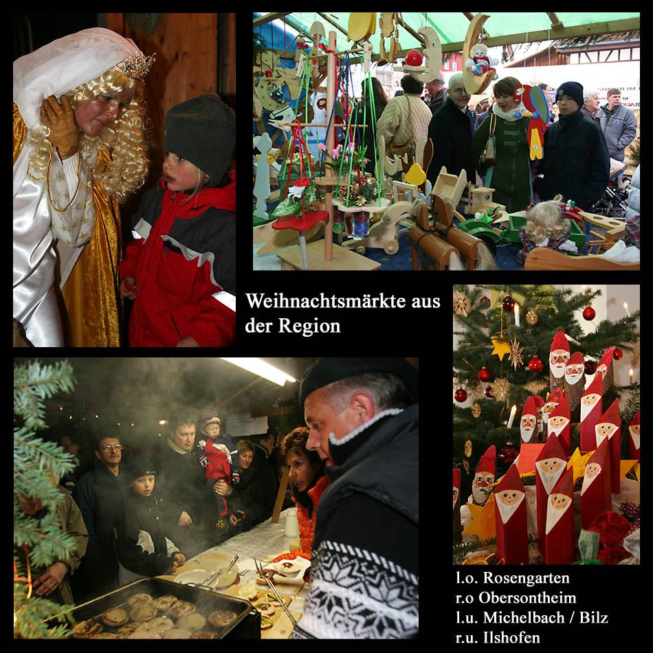 Weihnachtsmärkte aus der Region