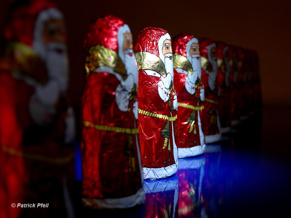 Weihnachtsmannparade