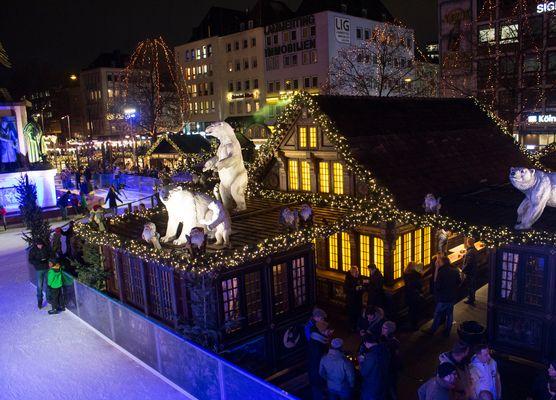 Weihnachtsmarkt am Heumarkt