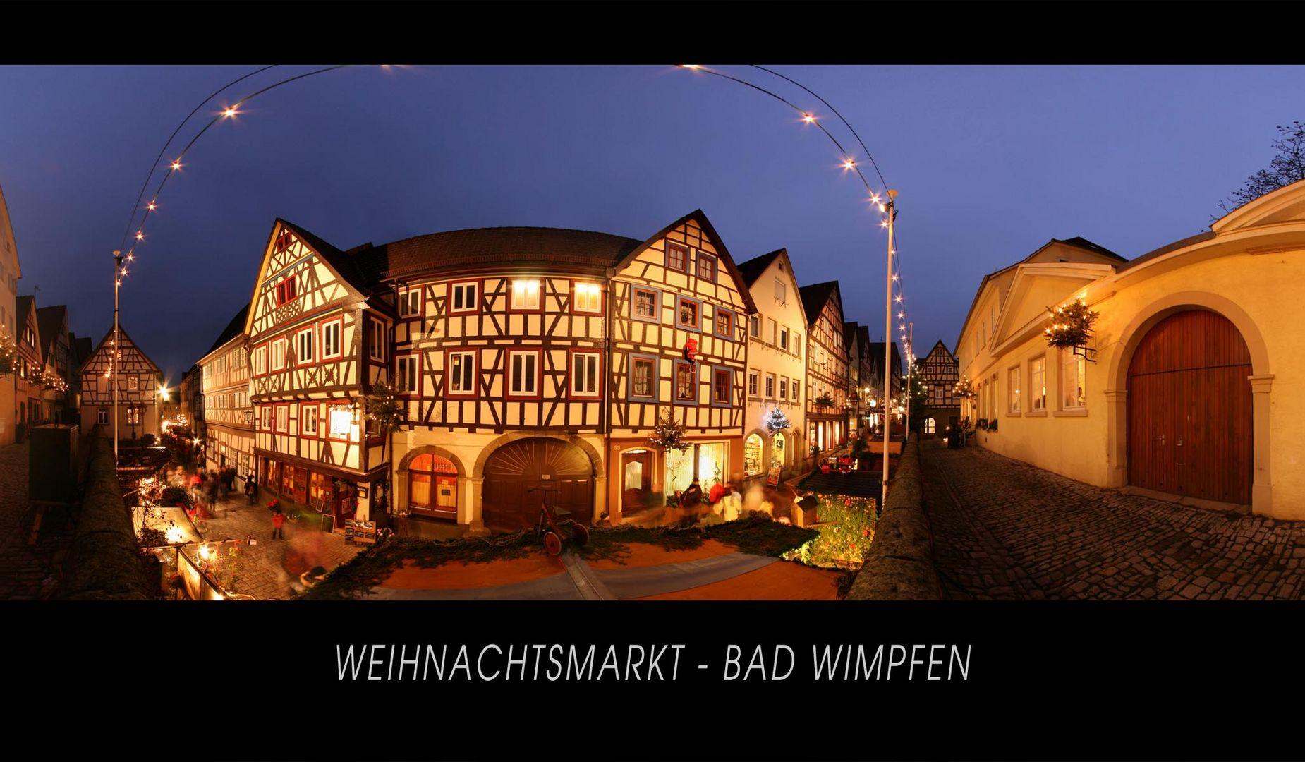 Weihnachtsmarkt - Bad Wimpfen