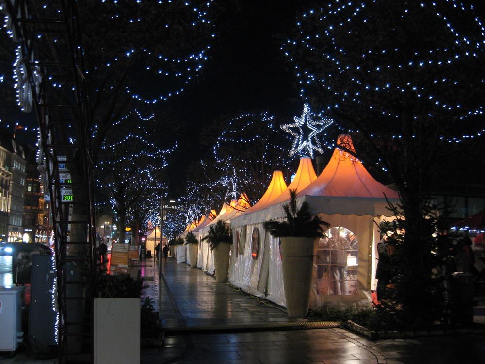Weihnachtsmarkt Hamburg, Jungfernstieg 2007