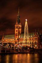 Weihnachtsmarkt Hamburger Rathaus