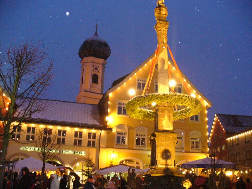 Weihnachtsmarkt im Allgäu
