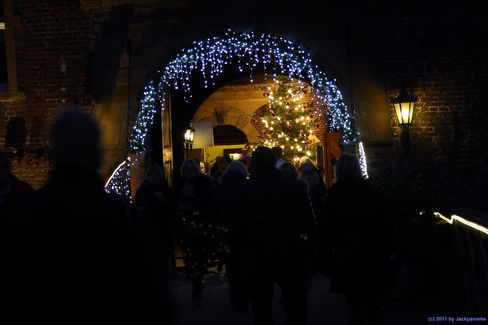 Weihnachtsmarkt im Wasserschloss Wittringen