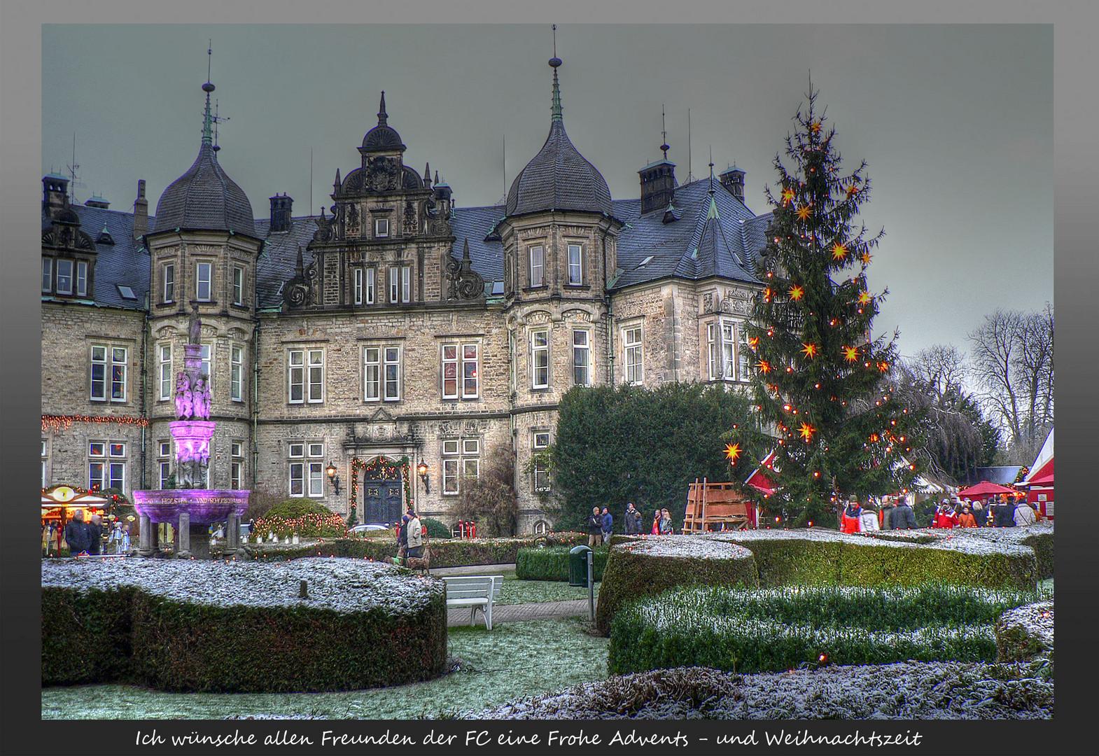 Weihnachtsmarkt in Bückeburg