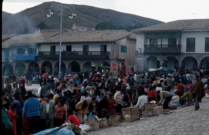 Weihnachtsmarkt in Cusco