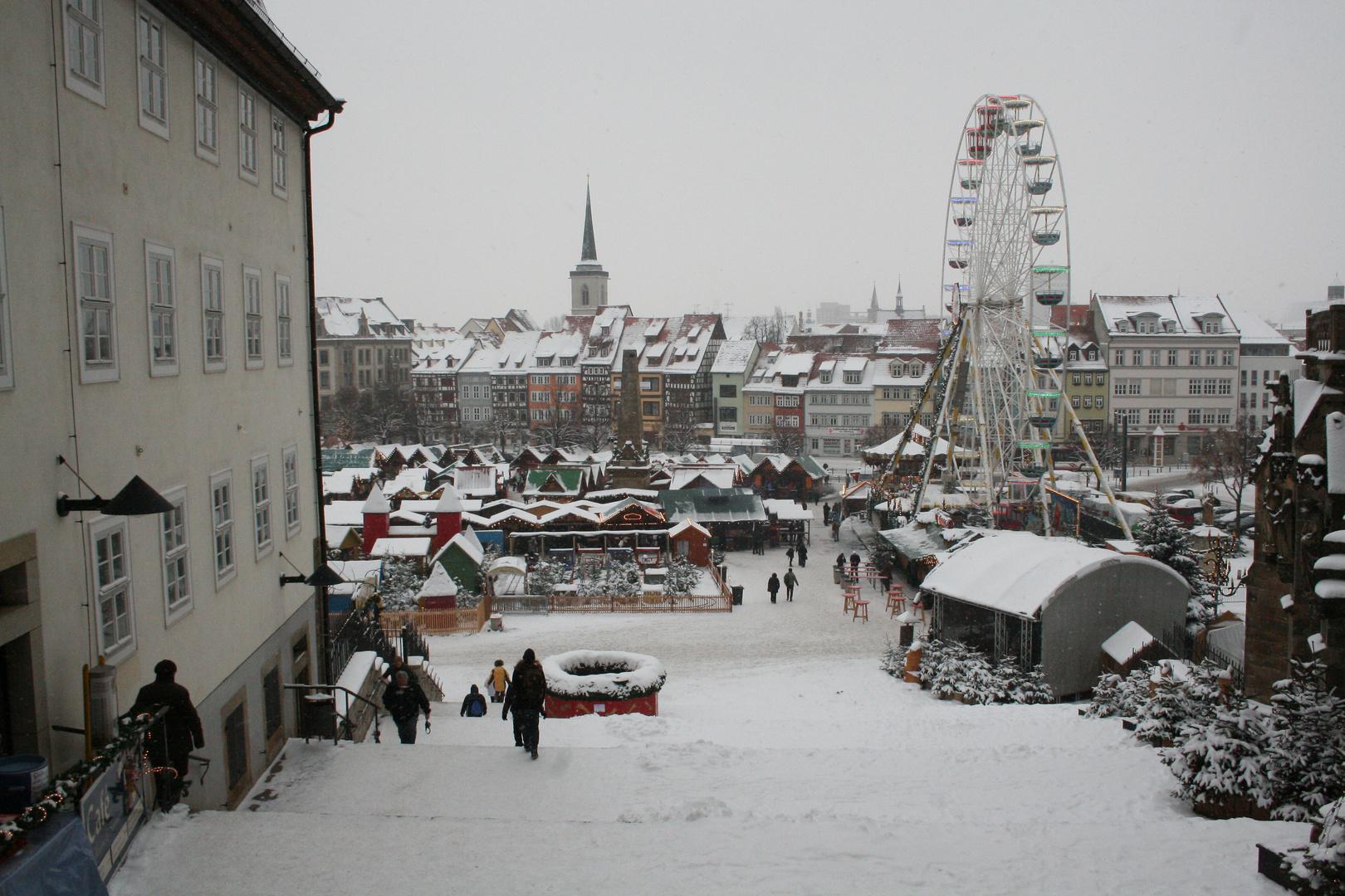 Weihnachtsmarkt in EF