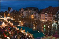 Weihnachtsmarkt in Erfurt/ Thüringen