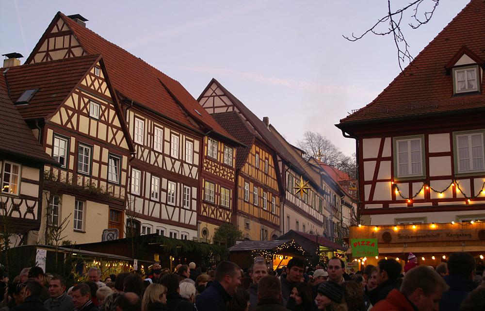 Weihnachtsmarkt in Königsberg