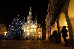 Weihnachtsmarkt in Liberec (CZ)