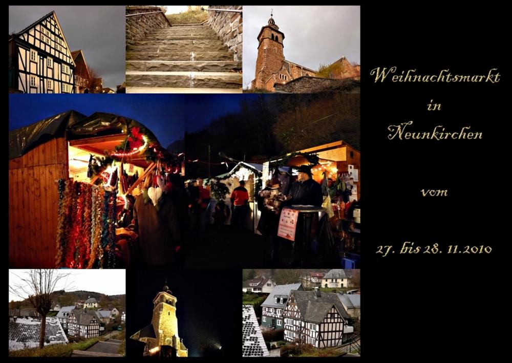 Weihnachtsmarkt in Neunkirchen