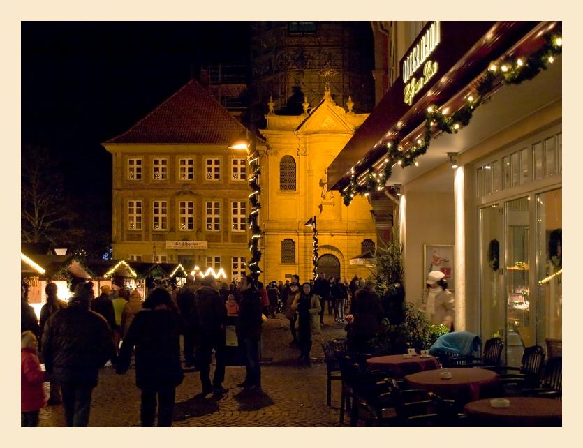 Weihnachtsmarkt in Paderborn