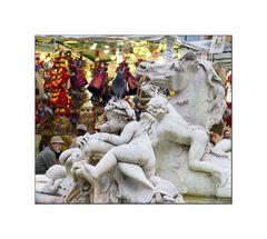 Weihnachtsmarkt in Rom, oder...