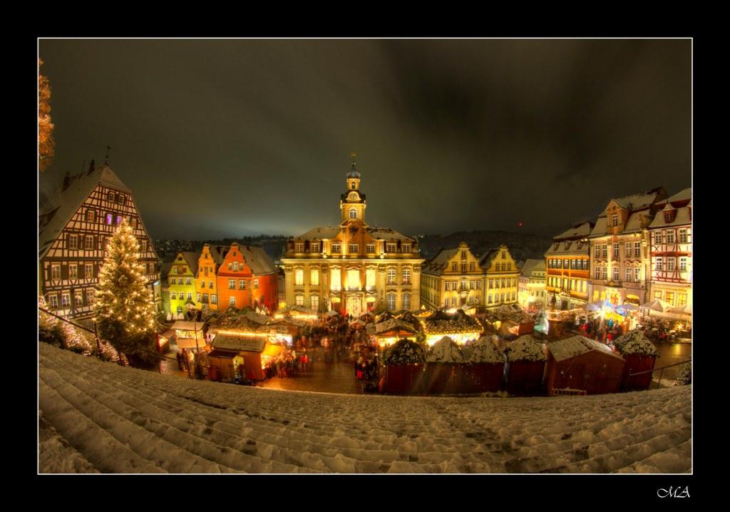 Weihnachtsmarkt in Schwäbisch Hall