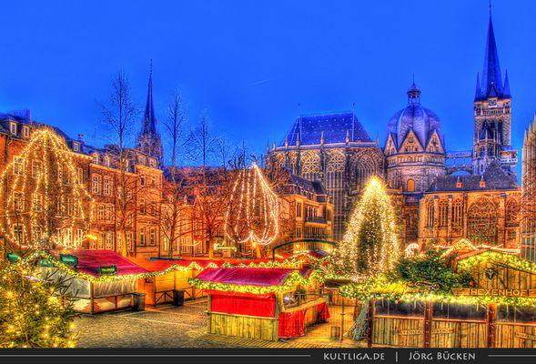 Weihnachtsmarkt Katschhof Aachen