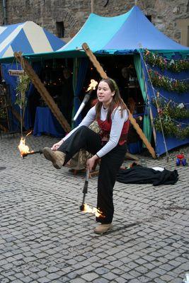 Weihnachtsmarkt Schloss Broich 2007