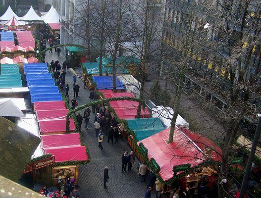 Weihnachtsmarkt von Oben1