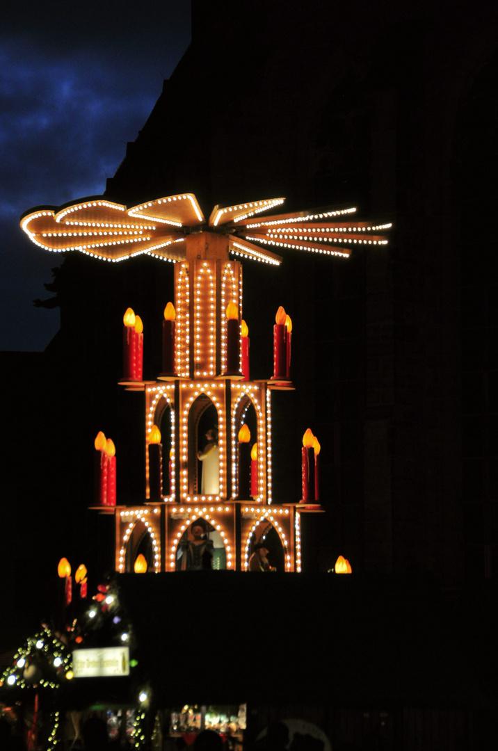Weihnachtspyramide Heidelberg