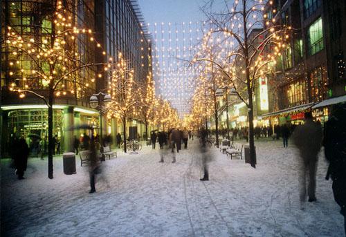 Weihnachtsrummel in Hannover