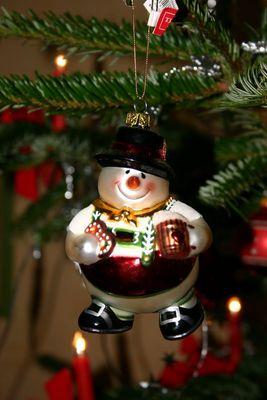 Weihnachtsschmuck aus den Staaten. nach Deutschland geschickt.
