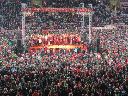 Weihnachtssingen 1.FC Union Berlin