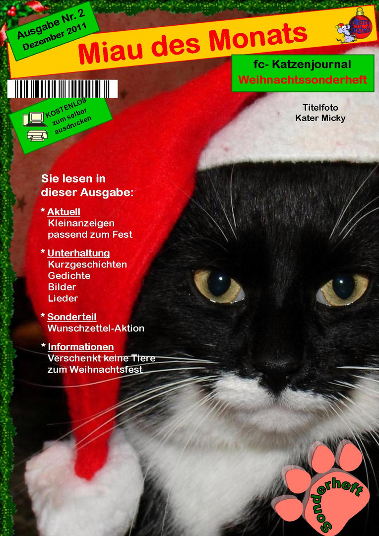 Weihnachtssonderheft