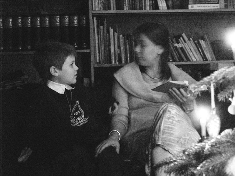 Weihnachtsstimmung bei Kerzenlicht