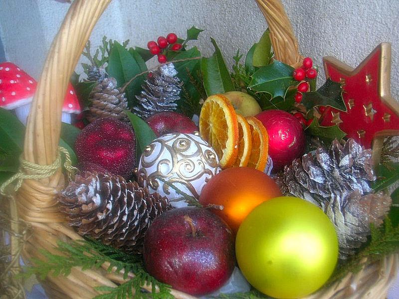 weihnachtsvorbereitung