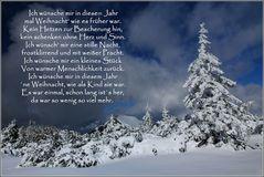 Weihnachtszeit in den Bergen