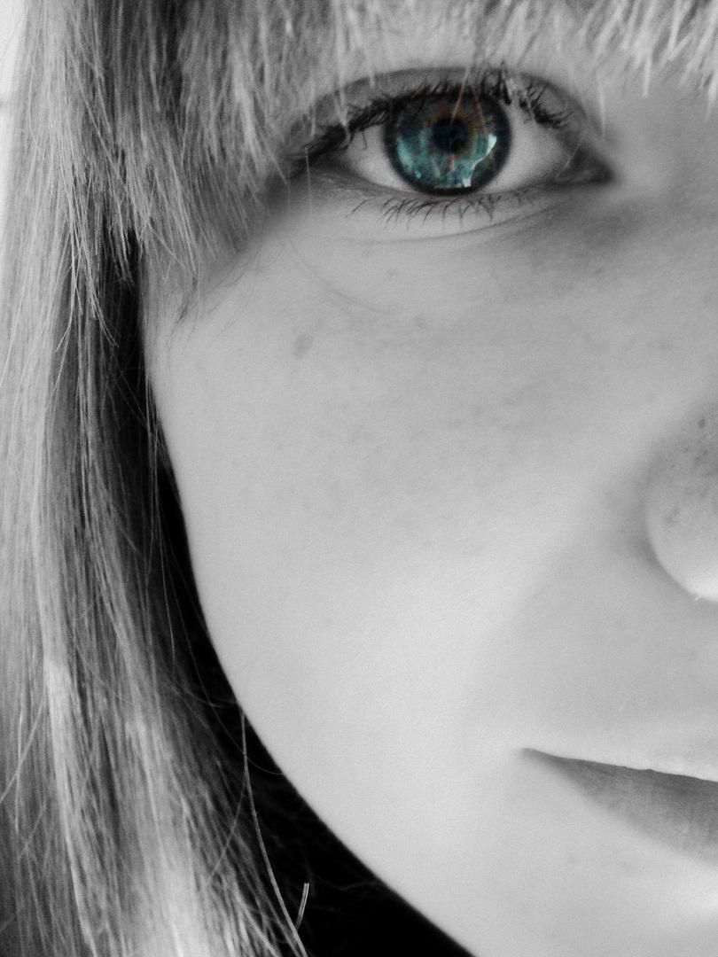 Weil du die Augen offen hast, glaubst du, du siehst.