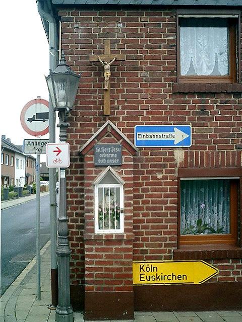 """Weilerswist 2002, aus der Serie: """"Kreuze"""""""