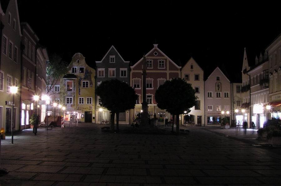Weilheim der Marktplatz