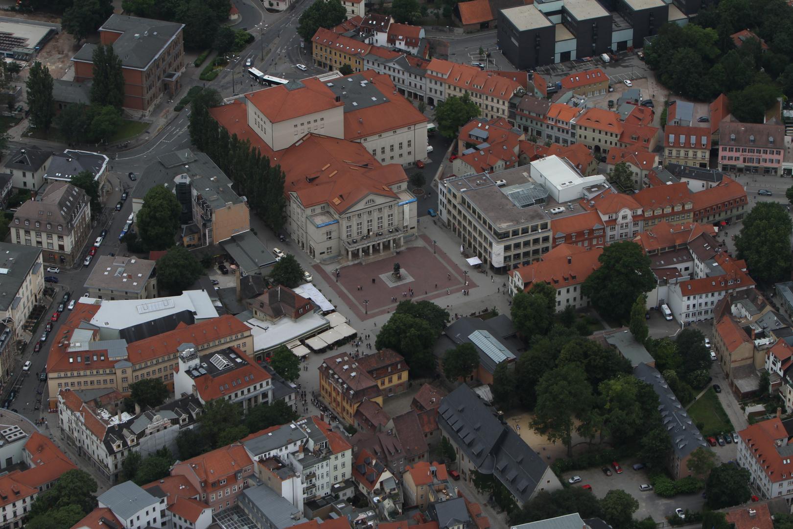 Weimar Theaterplatz
