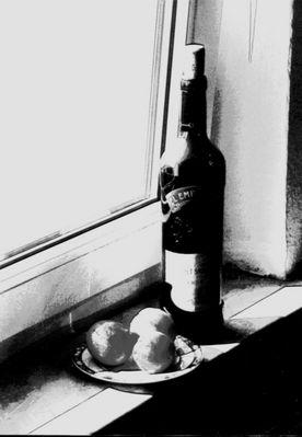 Wein mit Früchten
