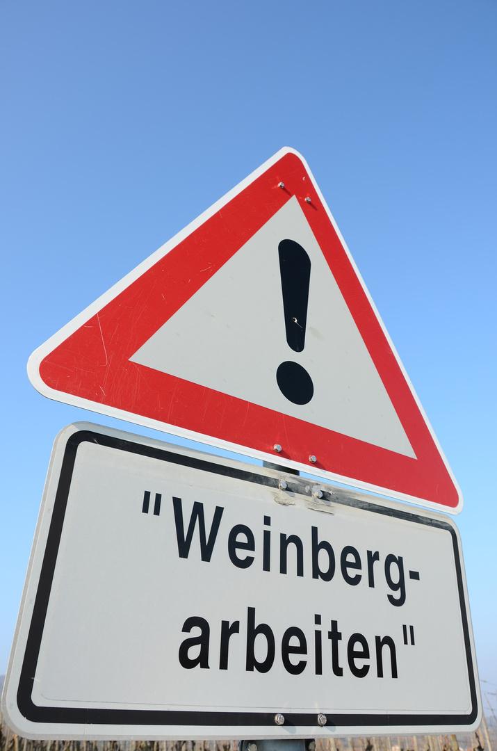Weinbergarbeiten