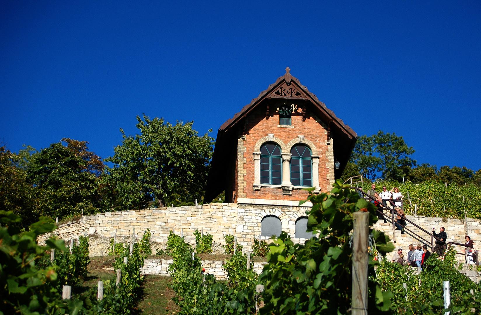 Weinberghäuschen bei Freyburg (Unstrut)